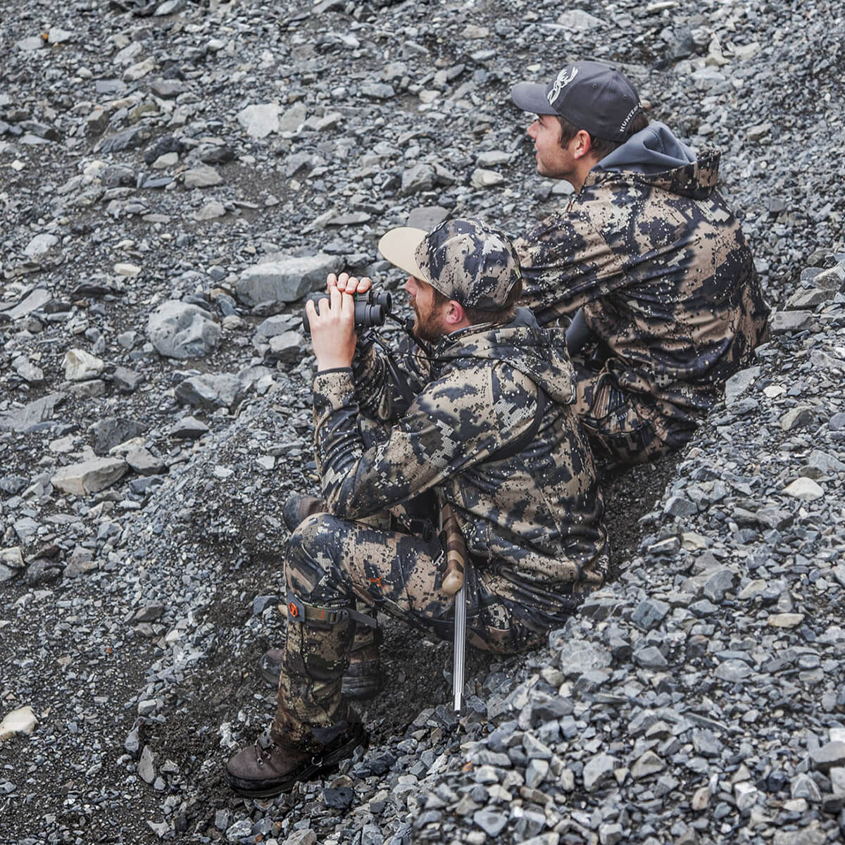 Hunters with the Swedteam Desolve® camouflage