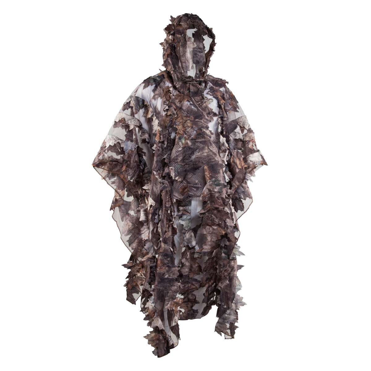 Wood Leaf Poncho M