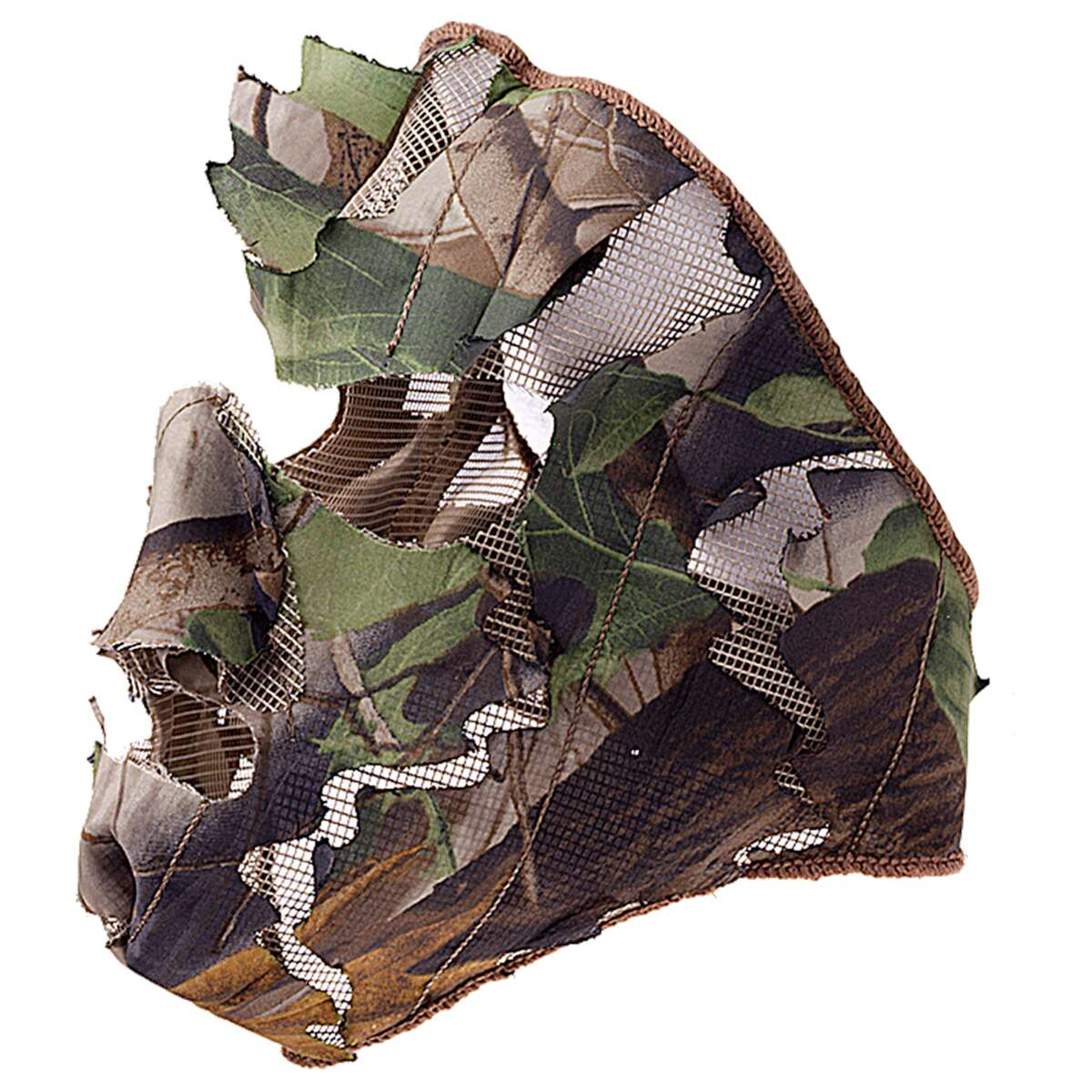 Leaf Camo Wood Face mask